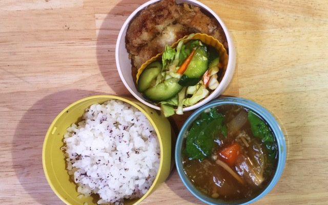 野沢菜炒飯、高野豆腐餡の油揚げ包み