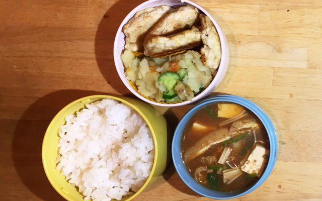 豆腐ハンバーグ、ポテトサラダほか