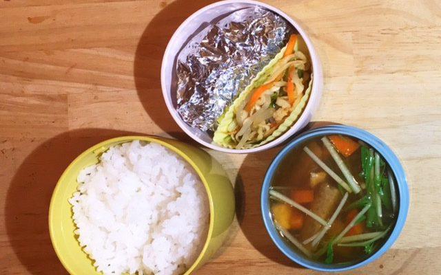 エノキとキクイモの豆腐ハンバーグ