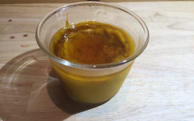 かぼちゃプリン(焼き)