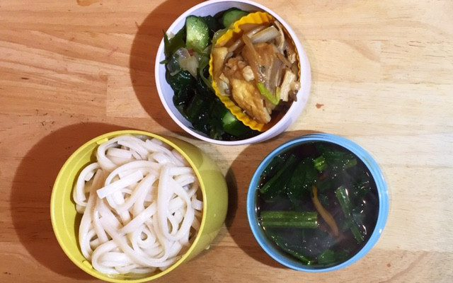 すき焼き風スープ