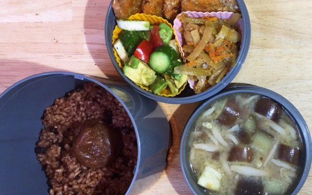 【番外】エノキとキクイモの大根餅風ハンバーグ、アボカドサラダほか