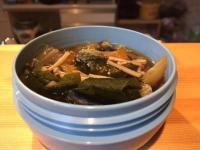 白菜寒天スープ