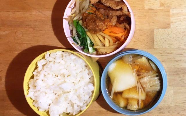 ビビンパ、トック風スープ