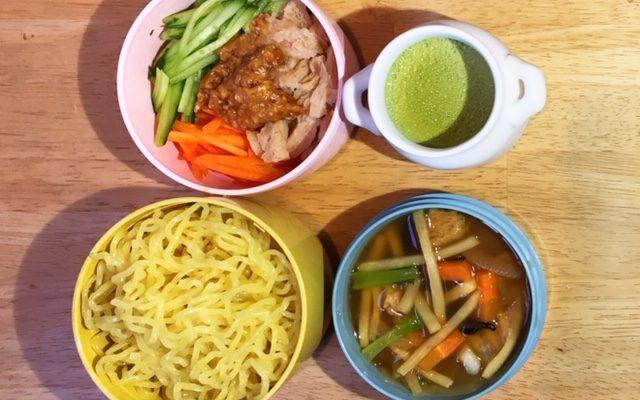 五目麺、抹茶プリンほか