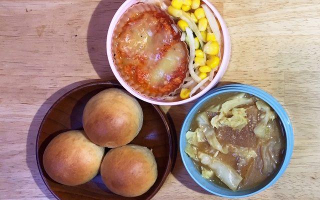 ベジラザニア、キャベツスープほか
