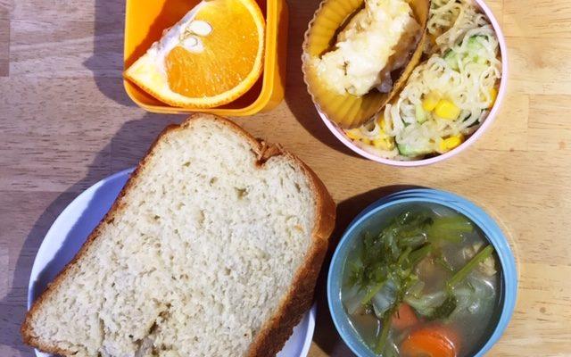 ヴィーガン食パン、春野菜のポトフほか