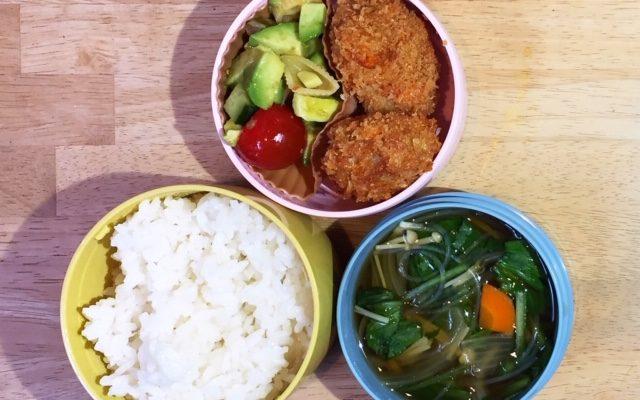 ベジメンチ、春雨スープほか